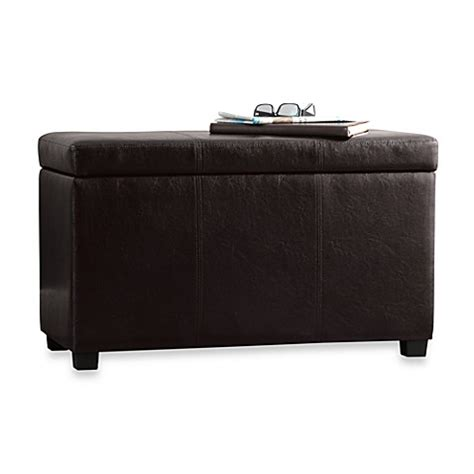 bed bath and beyond bench sullivan storage bench with tray top bed bath beyond