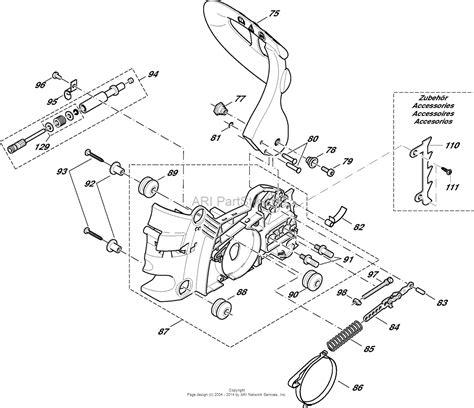 chainsaw diagram husqvarna 141 chainsaw parts husqvarna tractor engine