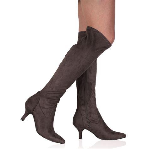 womens kitten heel boots is heel