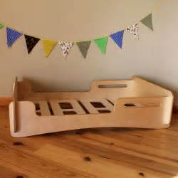 Toddler Bed Low To Ground Driftwood Toddler Bed