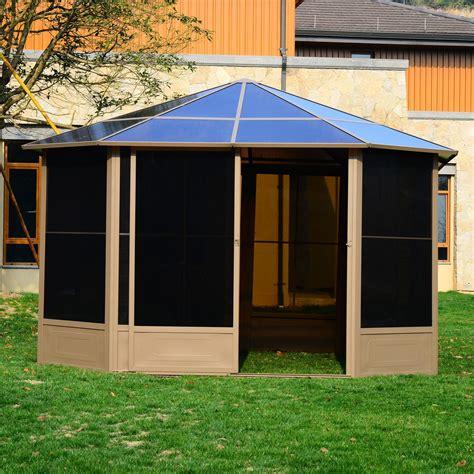gazebo screen gazebo tent with screen pergola design ideas