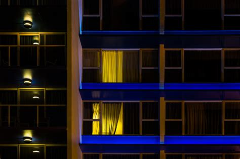 Lights For Windows Designs Free Images Light House Building Line Reflection Geometry Color Facade Darkness