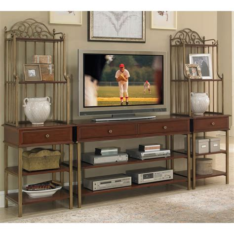 home styles st ives 3 pc media entertainment center