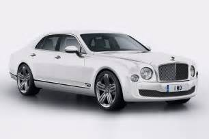Bentley Mulsanne White 2014 Bentley Mulsanne 95 6 Front Three Quarter White Photo 5
