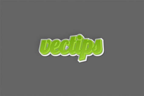 tutorial illustrator text 3d how to create a 3d text effect in adobe illustrator vectips