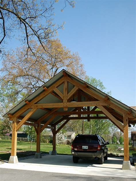 Carport 4 X 5 1346 by Timber Carport Kits Home Design Ideas Pictures Remodel