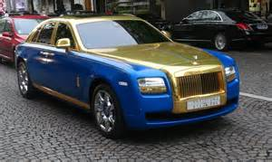 Rolls Royce Ghost Gold Gold Rolls Royce Ghost