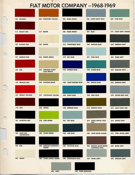 library colors auto color library color chip upcomingcarshq com