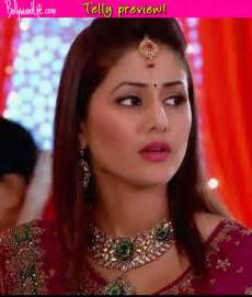 akshara wedding hairstyle yeh rishta kya kehlata hai who is giving akshara a hard