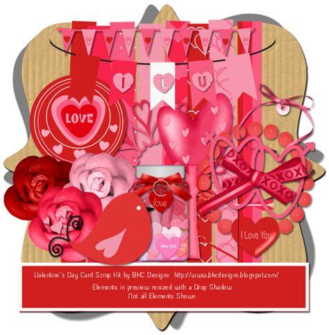 valentines day kit bkc designs valentines day ftu scrap kit templates