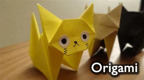 Origami Neko - origami cat neko 折り紙 ねこ 折り方