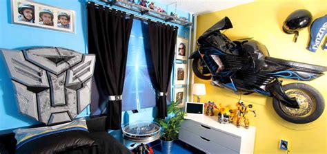 transformers bedroom decor blissfulbedrooms