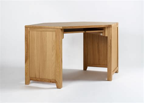 corner desk oak westbury reclaimed oak corner desk oak furniture solutions