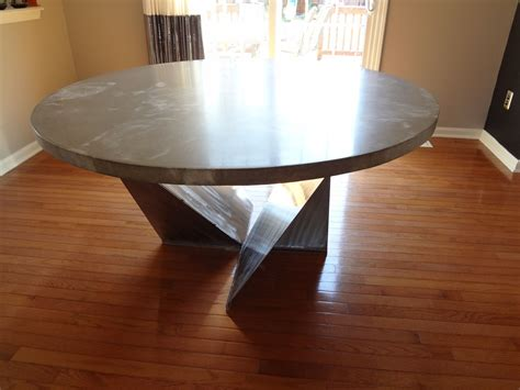 custom dining room table custom dining room table kitchen table by rock and a place concrete custommade