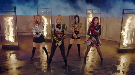 blackpink fire blackpink s quot playing with fire quot becomes their 3rd mv to