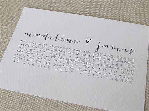 modern calligraphy wedding invitations 163 3 60 via etsy design envy modern