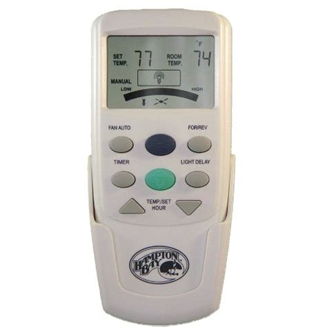 thermostat controlled ceiling fan hton bay chq7096t thermostatic remote control desertcart