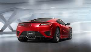 Acura 2016 Nsx 2016 Acura Nsx Pictures Photos Gallery Green Car Reports