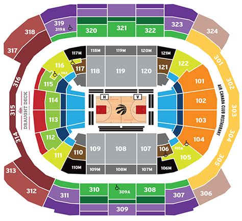 acc floor plan acc floor plan air canada centre seating map toronto raptors