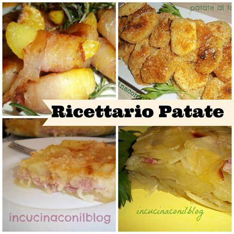 ricettario cucina pdf ricettario patate pdf in cucina con il