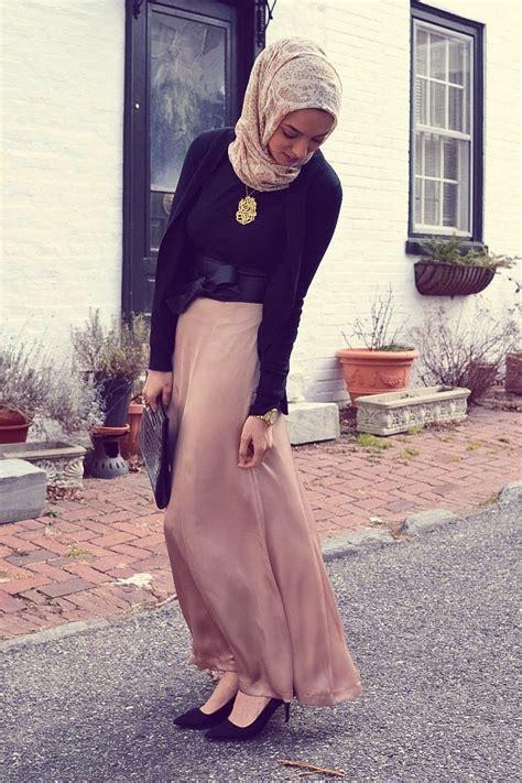 hijabi fashion haute maxi skirt hani hulu quot muslim