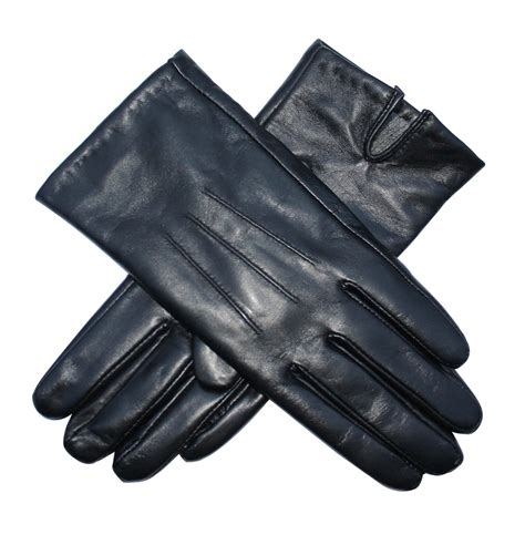 Silk Duvet Reviews Ladies Lambskin Leather Cashmere Lined Gloves From