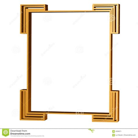 clean lines clean lines of an art deco stock image image 4059071