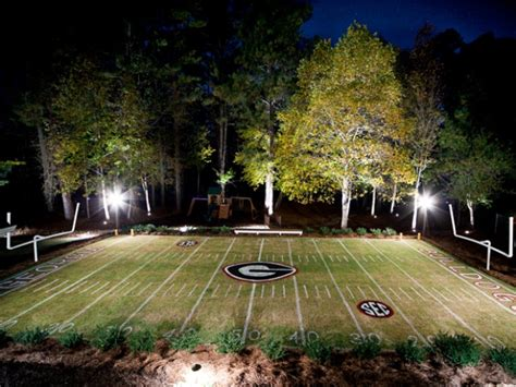 backyard baseball stadiums former georgia player builds sanford stadium in his