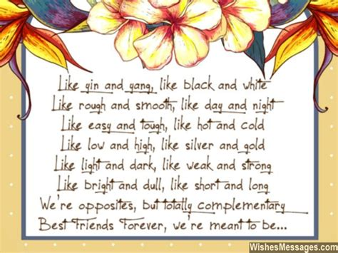 Wedding Song For Best Friends by Thanks You Poems For Friends Friendship Poems