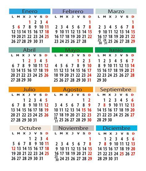 Calendario Cantabria 2015 Calendario Laboral En Espa 241 A