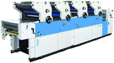 Multi Color Sticker Printing Machine