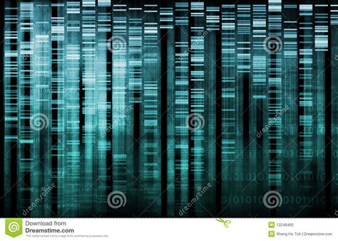 dna research stock photo image