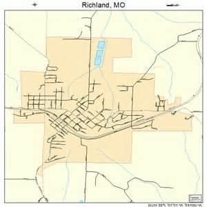 richland missouri map 2961562