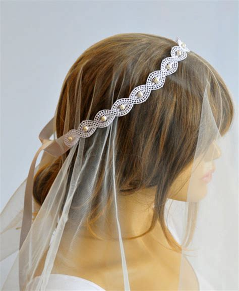 Wedding Hair Accessories Ribbon Headband by Hair Accessory Selenayy Wedding Accessories Wedding