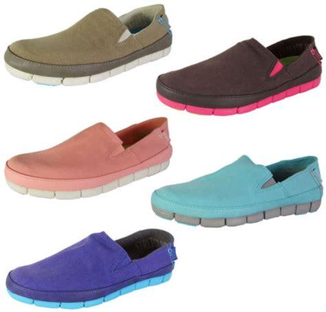 Sepatu Wanita Crocs Stretch Sole Loafer 2016 crocs womens stretch sole slip on loafer shoes 19 99 reg 79 99 plus free shipping