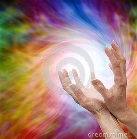wann kommt die nächste eiszeit sending distant healing energy stock photo image 41545710