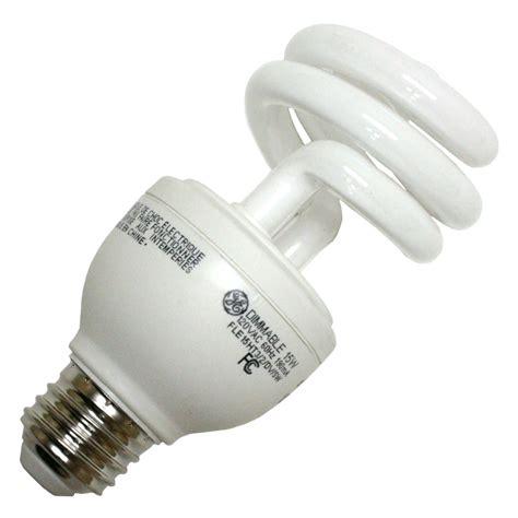 Ge Fluorescent Light Bulbs by Ge 89623 Fle15ht3 2 Dv Cd Twist Medium Base