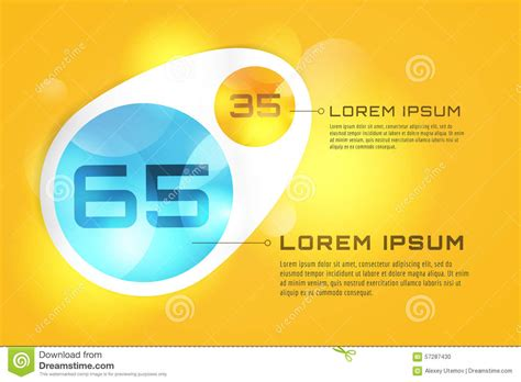presentation and layout of web newspaper vector banner infographic template processes stock vector