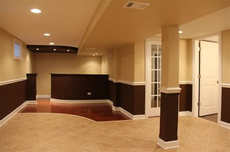 basement color schemes basements