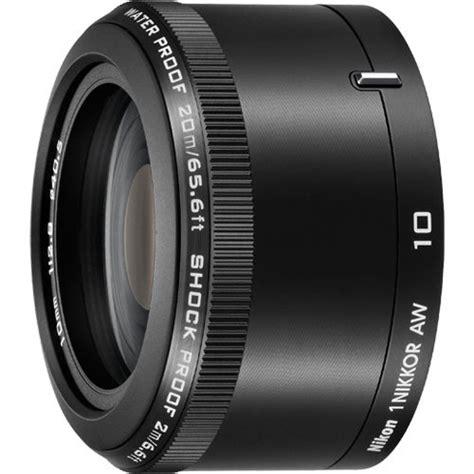 Nikon Lensa 10mm F 2 8 buydig nikon 1 nikkor aw 10mm f 2 8 lens black