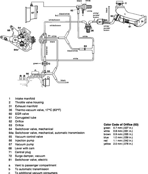 mercedes 1983 new question vacuum schematic for 240d