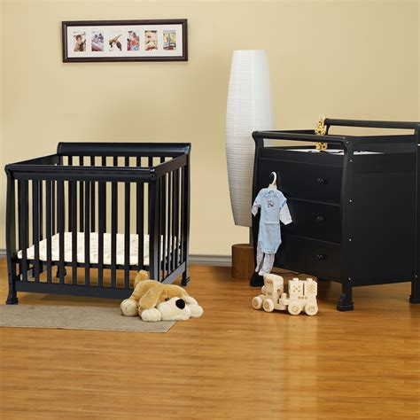 mini cribs with changing table mini crib with changing table combo decorative table