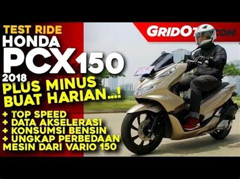 Pcx 2018 Test Ride by Honda Pcx 150 2018 L Test Ride Review L Gridoto