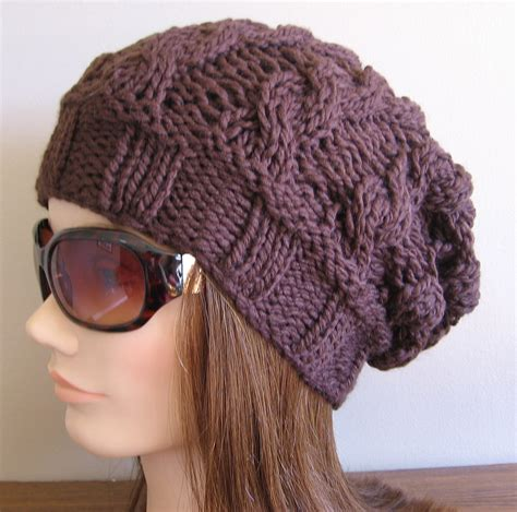 knit cap pattern slouch hats tag hats