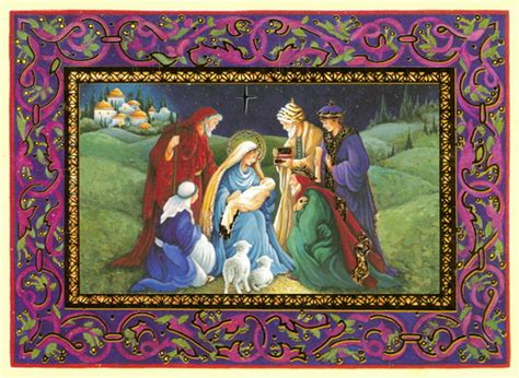 Cards With Nativity - nativity from card flickr photo