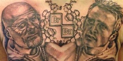 breaking bad tattoo this breaking bad is the of a true superfan