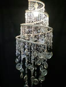 recycled chandeliers recycled tin end bead chandelier made in south africa