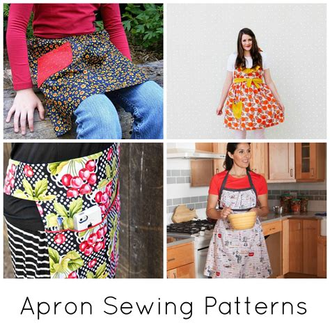 sewing pattern for apron 9 pretty apron patterns on craftsy