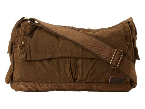 bed stu purses bed stu hawkeye messenger bag in brown for men lyst