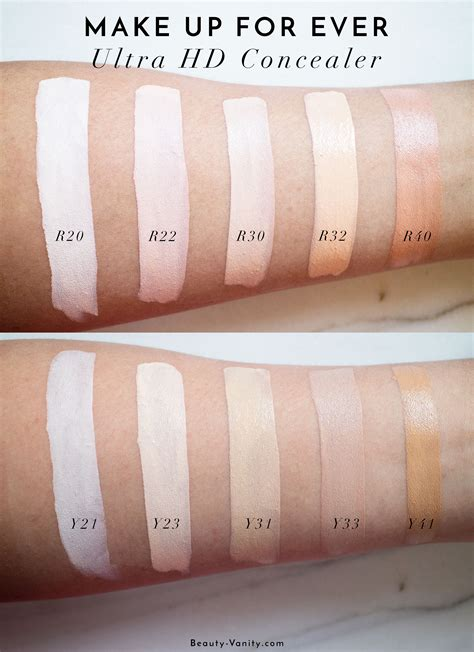 Make Up Forever Hd makeup forever hd foundation color swatches style